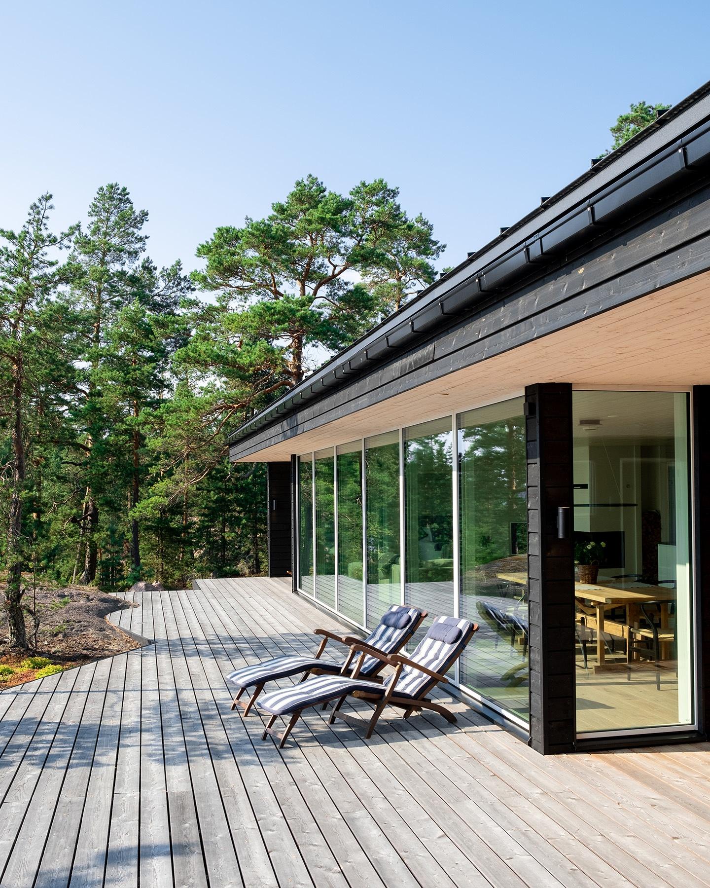 Arkkitehdin suunnittelema vapaa-ajan asunto Porvoossa-2