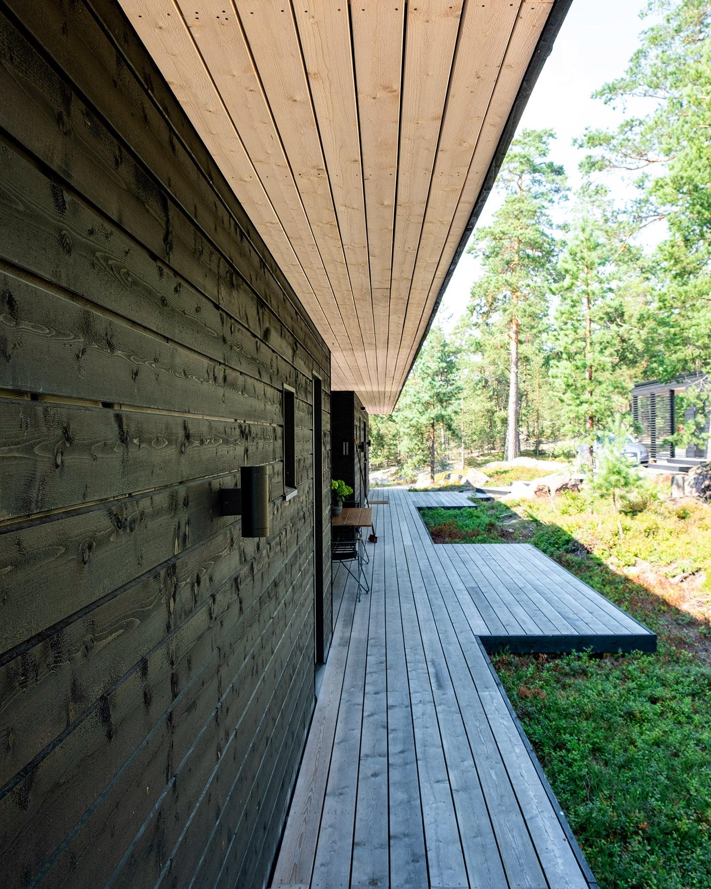 Arkkitehdin suunnittelema vapaa-ajan asunto Porvoossa-5