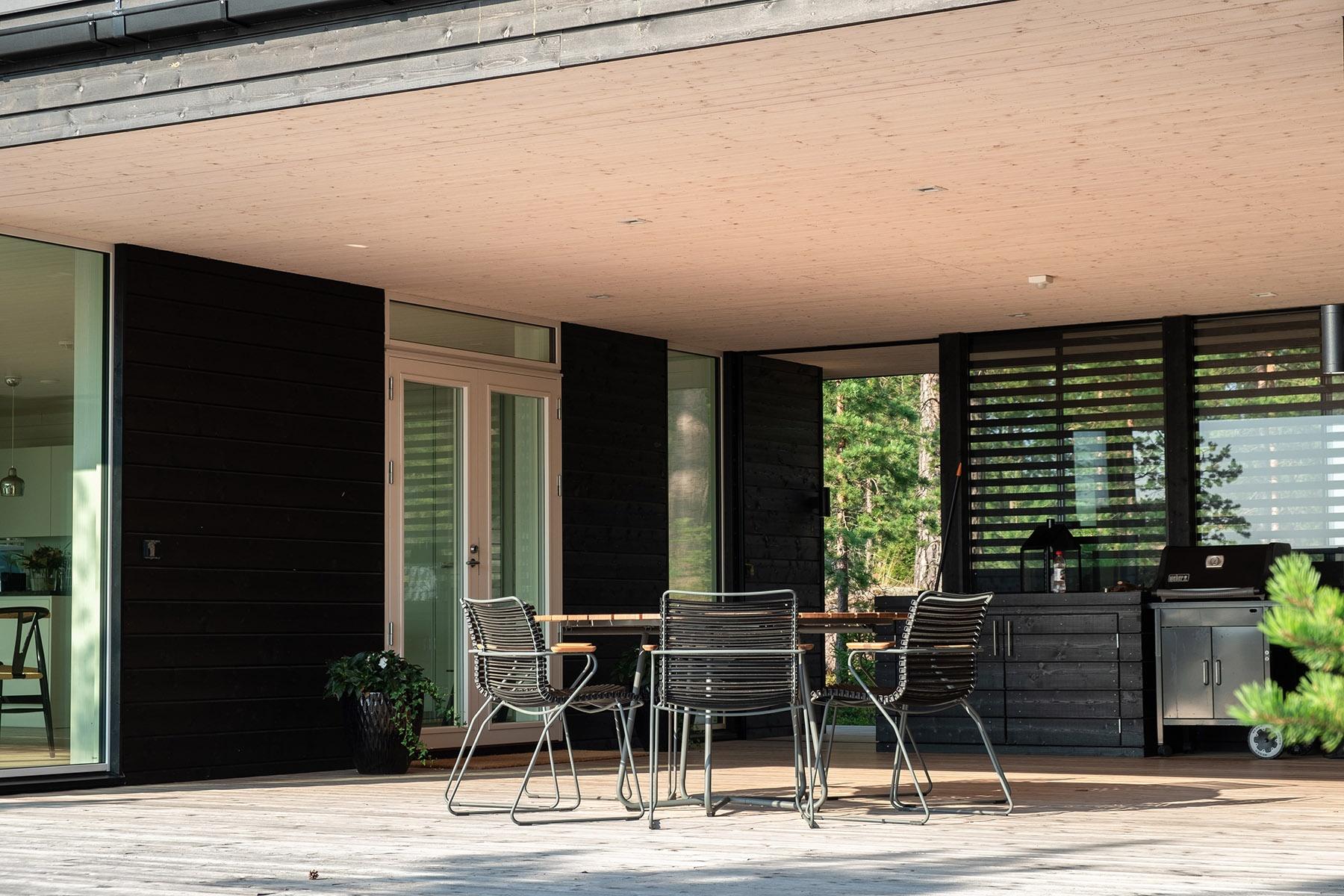 Arkkitehdin suunnittelema vapaa-ajan asunto Porvoossa-6