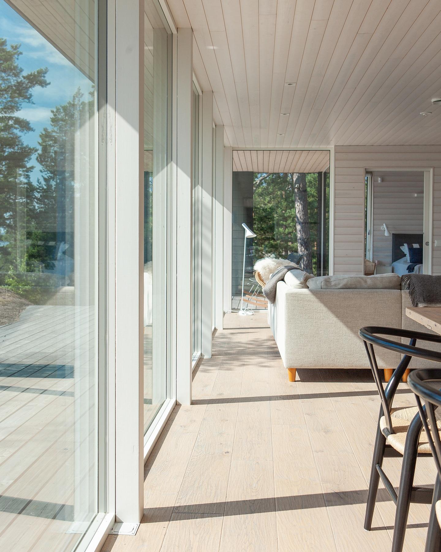 Arkkitehdin suunnittelema vapaa-ajan asunto Porvoossa-9