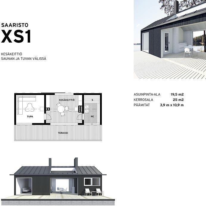 Saaristolaistalo XS1