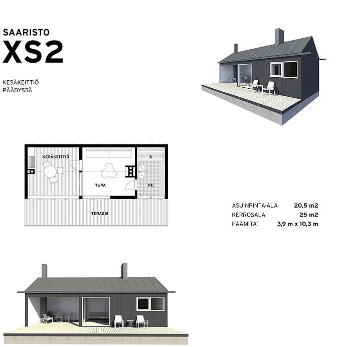 Saaristolaistalo XS2