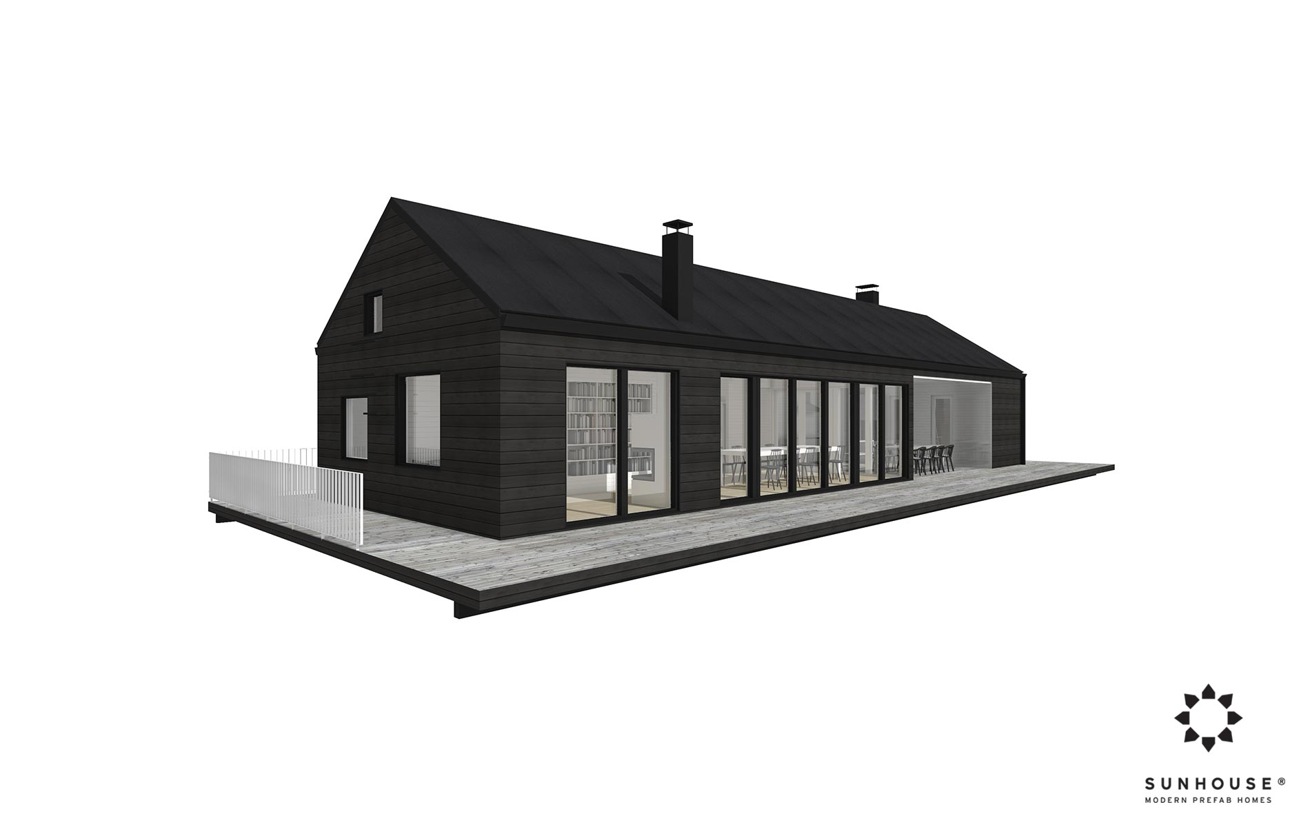 Sunhouse S1319 - moderni huvila