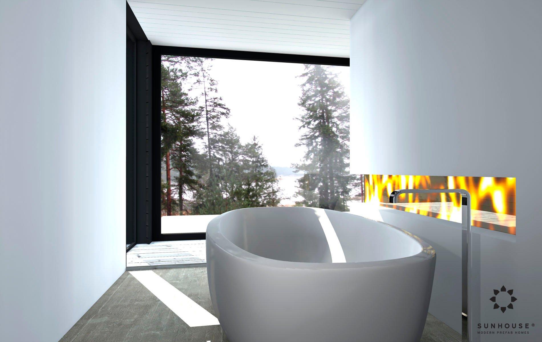 Sunhouse S1412 - Moderni vapaa-ajan asunto-10