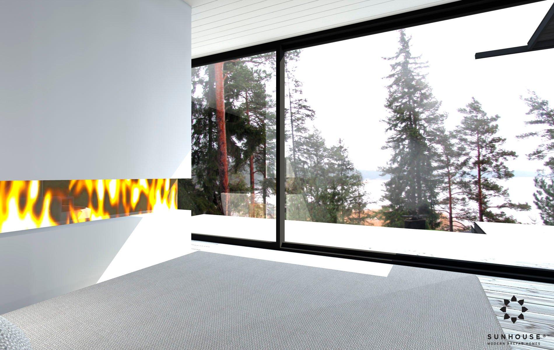 Sunhouse S1412 - Moderni vapaa-ajan asunto-11