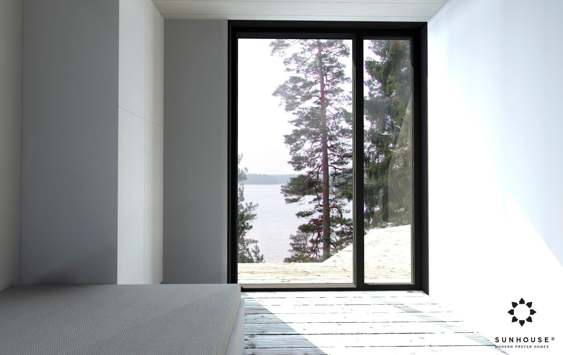 Sunhouse S1412 - Moderni vapaa-ajan asunto-13