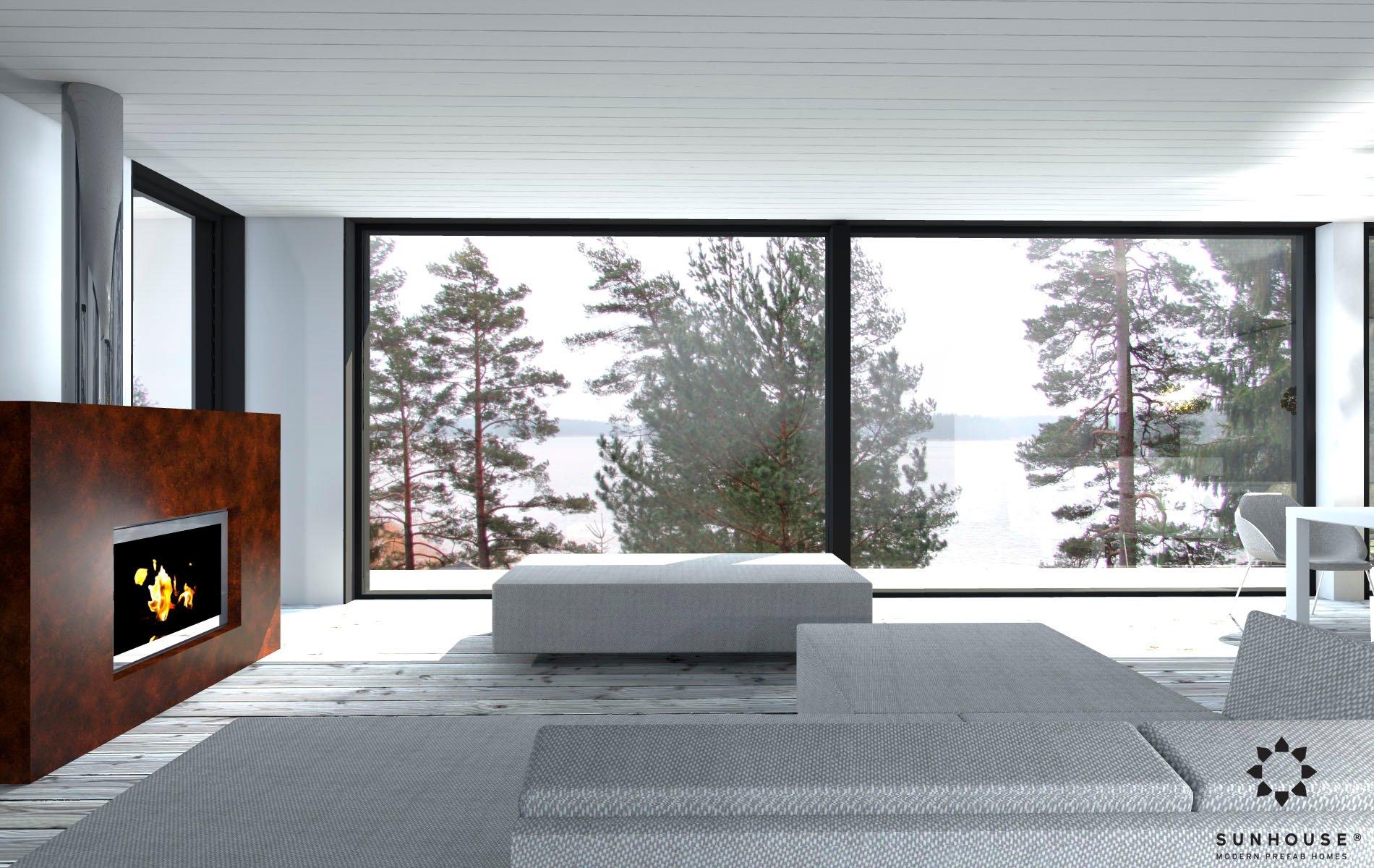 Sunhouse S1412 - Moderni vapaa-ajan asunto-14