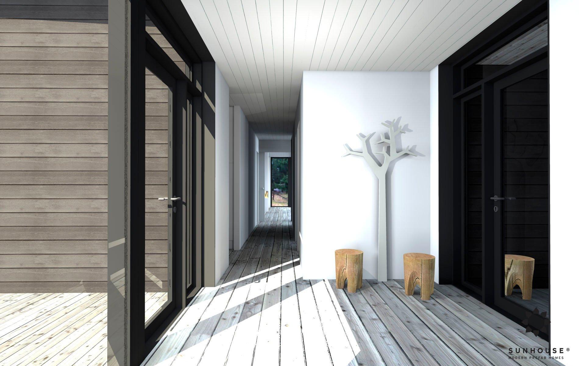 Sunhouse S1412 - Moderni vapaa-ajan asunto-6