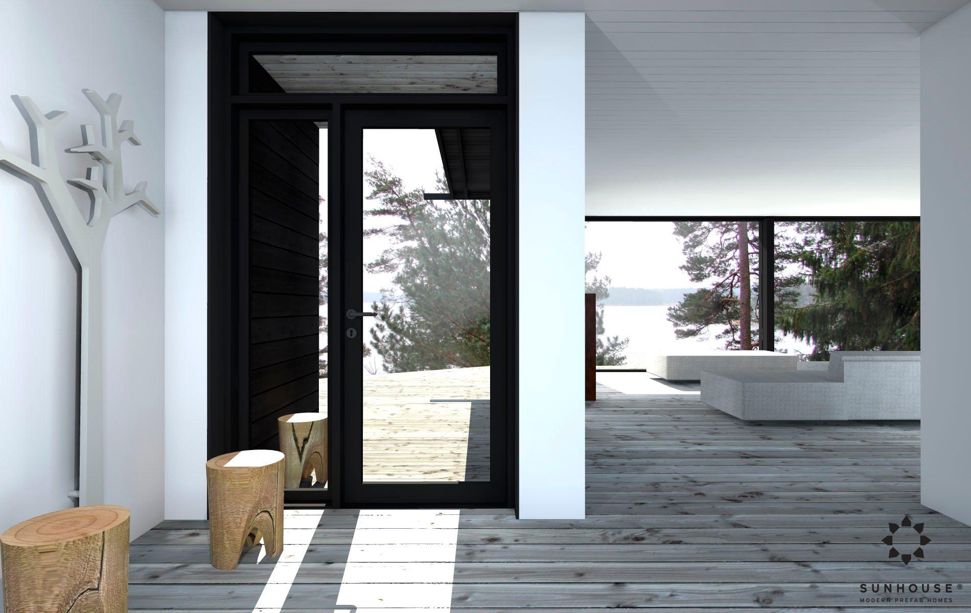 Sunhouse S1412 - Moderni vapaa-ajan asunto-7
