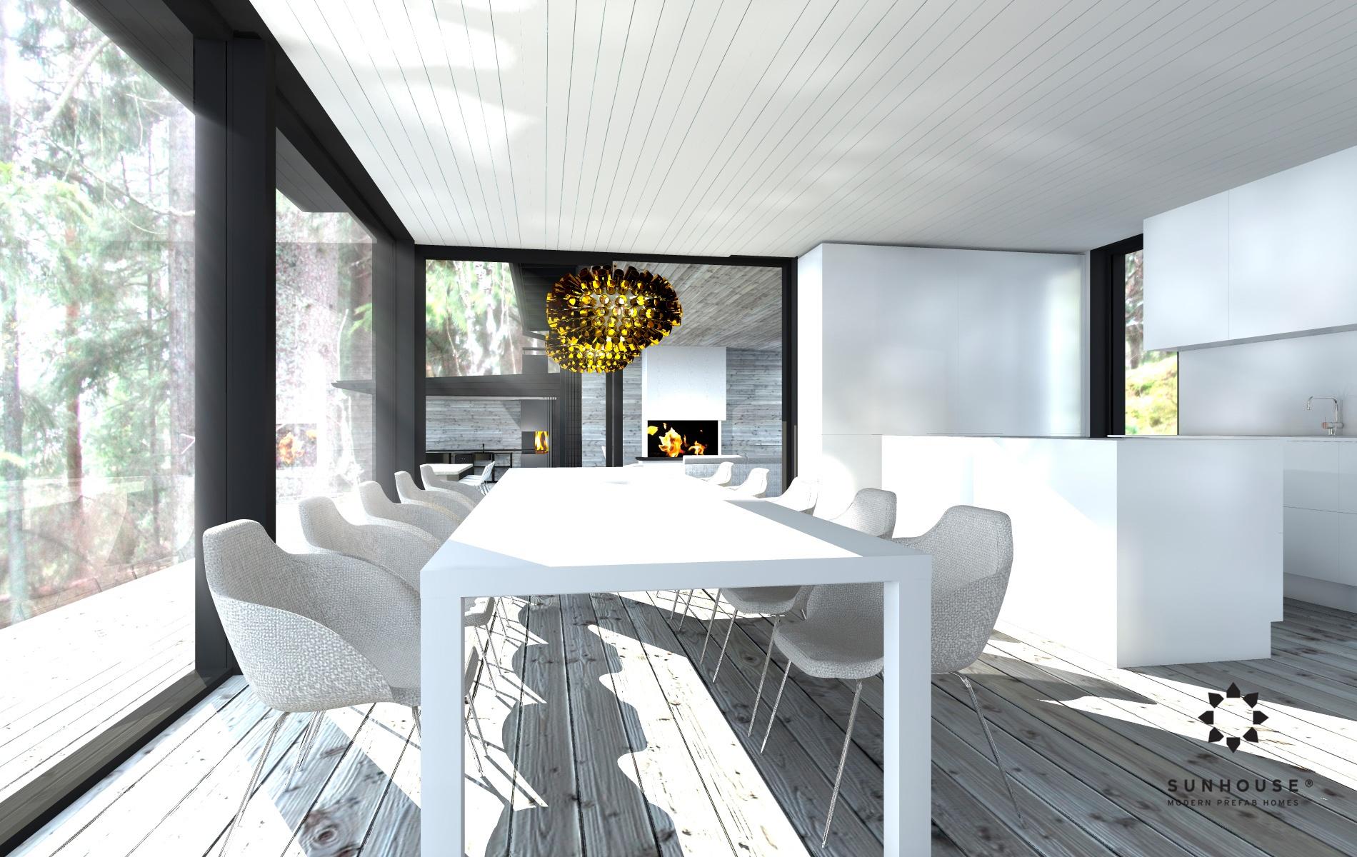 Sunhouse S1412 - Moderni vapaa-ajan asunto-8