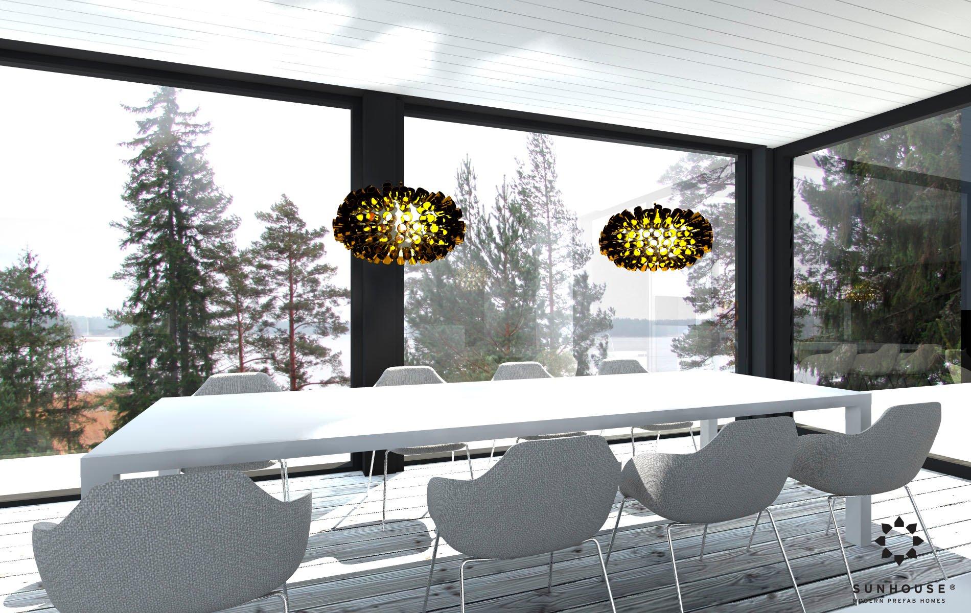 Sunhouse S1412 - Moderni vapaa-ajan asunto-9