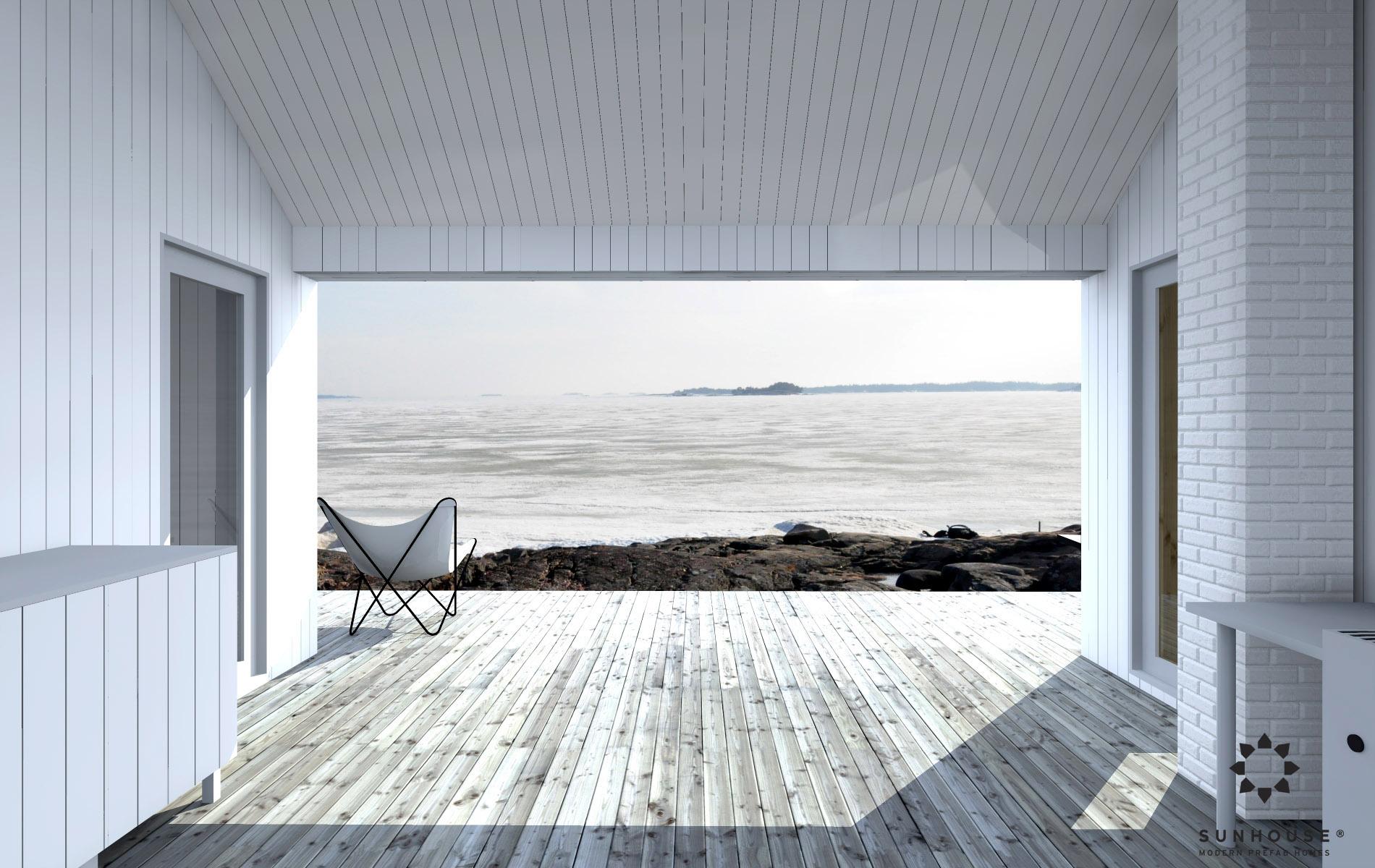 Sunhouse moderni sauna S1601 (1)