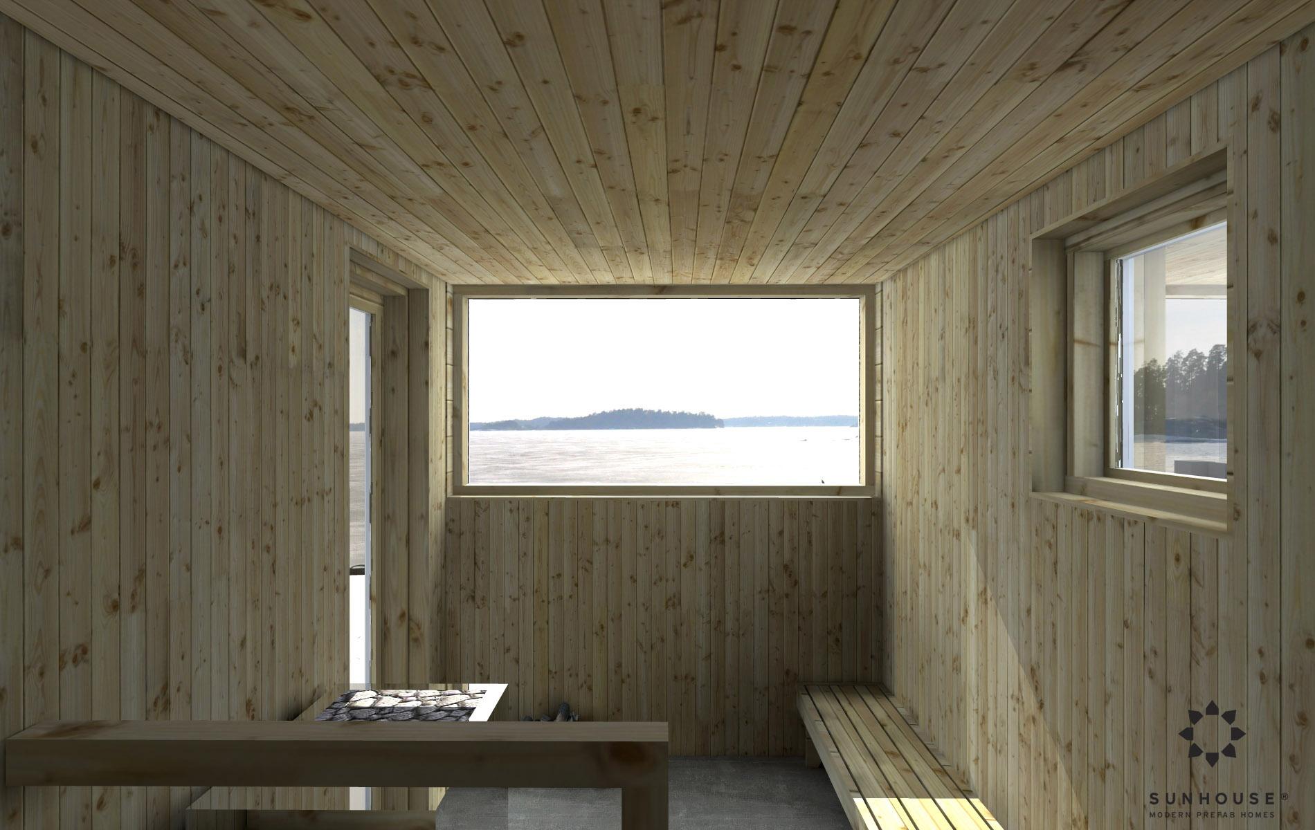 Sunhouse moderni sauna S1601 (6)