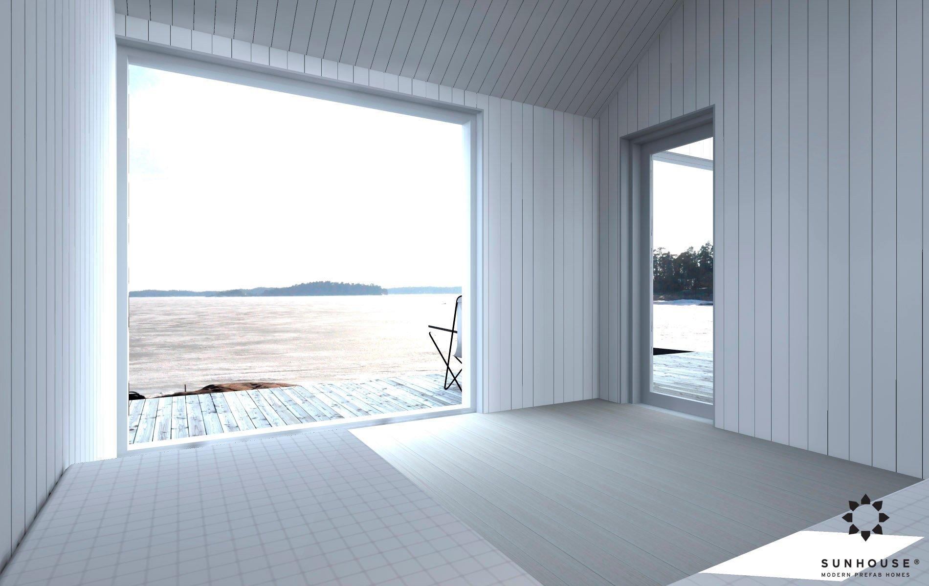 Sunhouse moderni sauna S1601 (8)