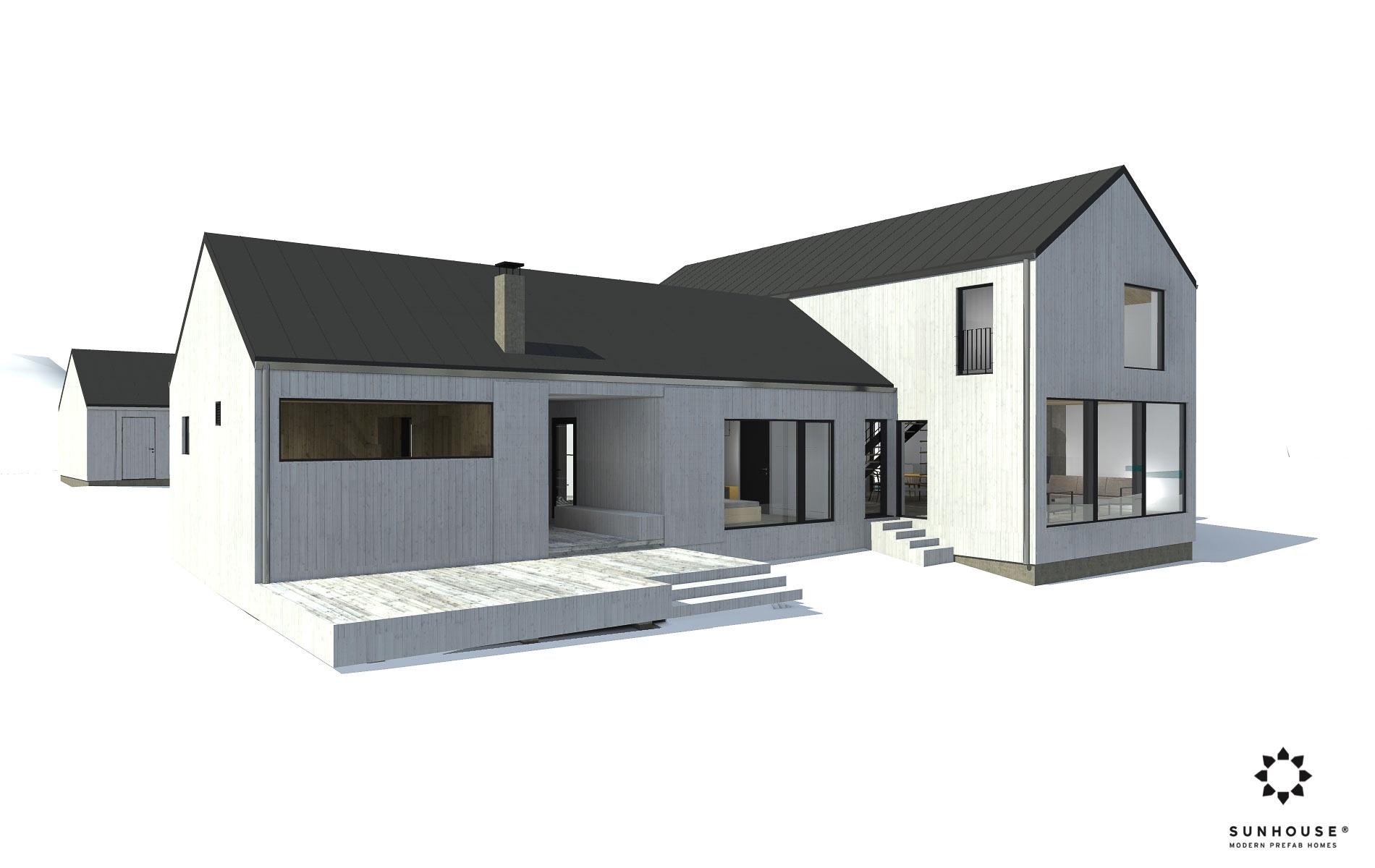 Arkkitehdin suunniettelema koti S1706
