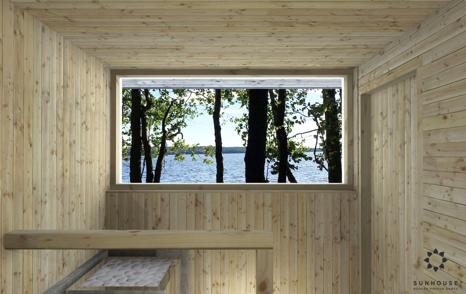 Sunhouse moderni sauna S1722_sisältä (5)
