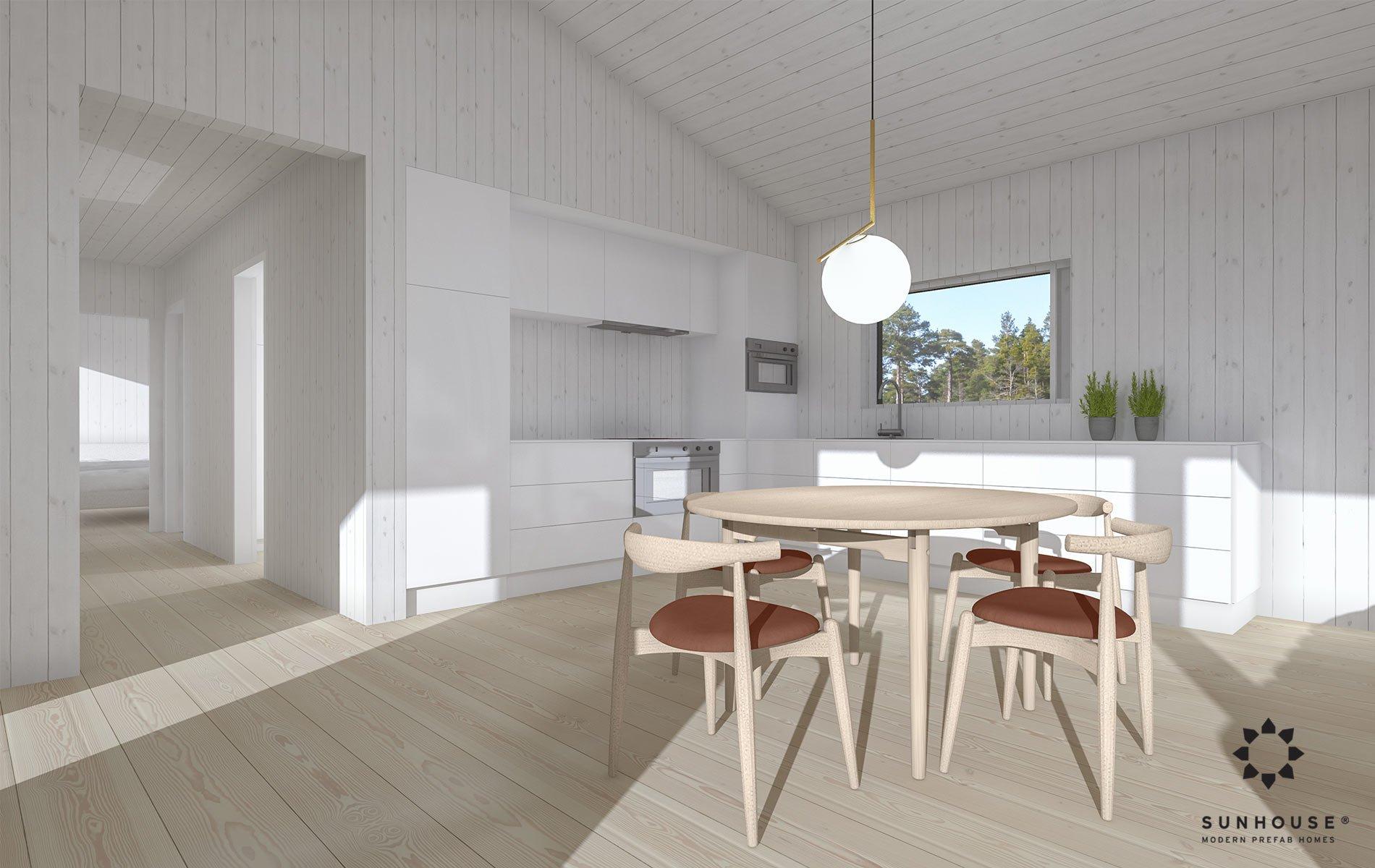 Sunhouse S180062 - Moderni huvila