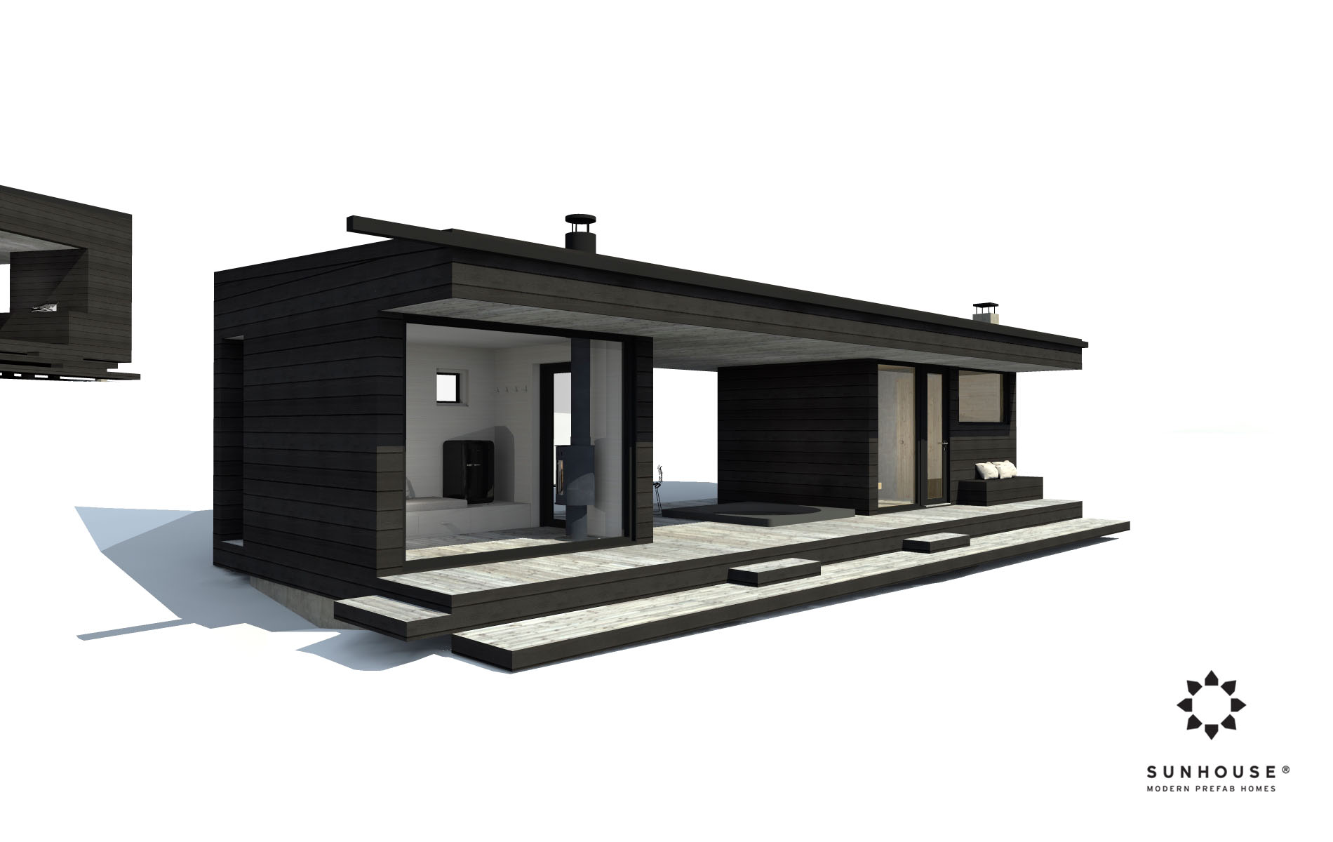 Sunhouse S180107 sauna