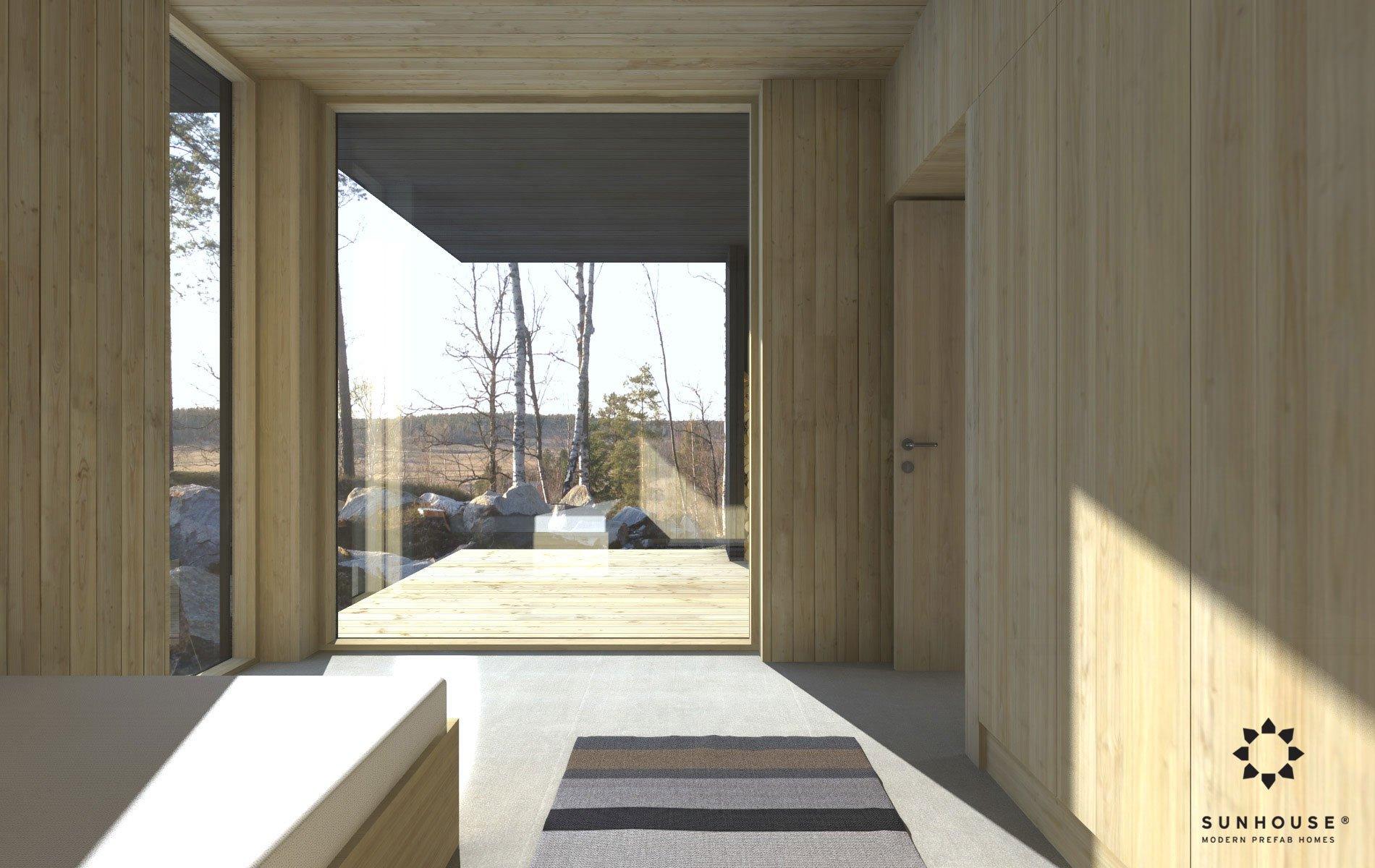 Sunhouse S190100 - Moderni omakotitalo