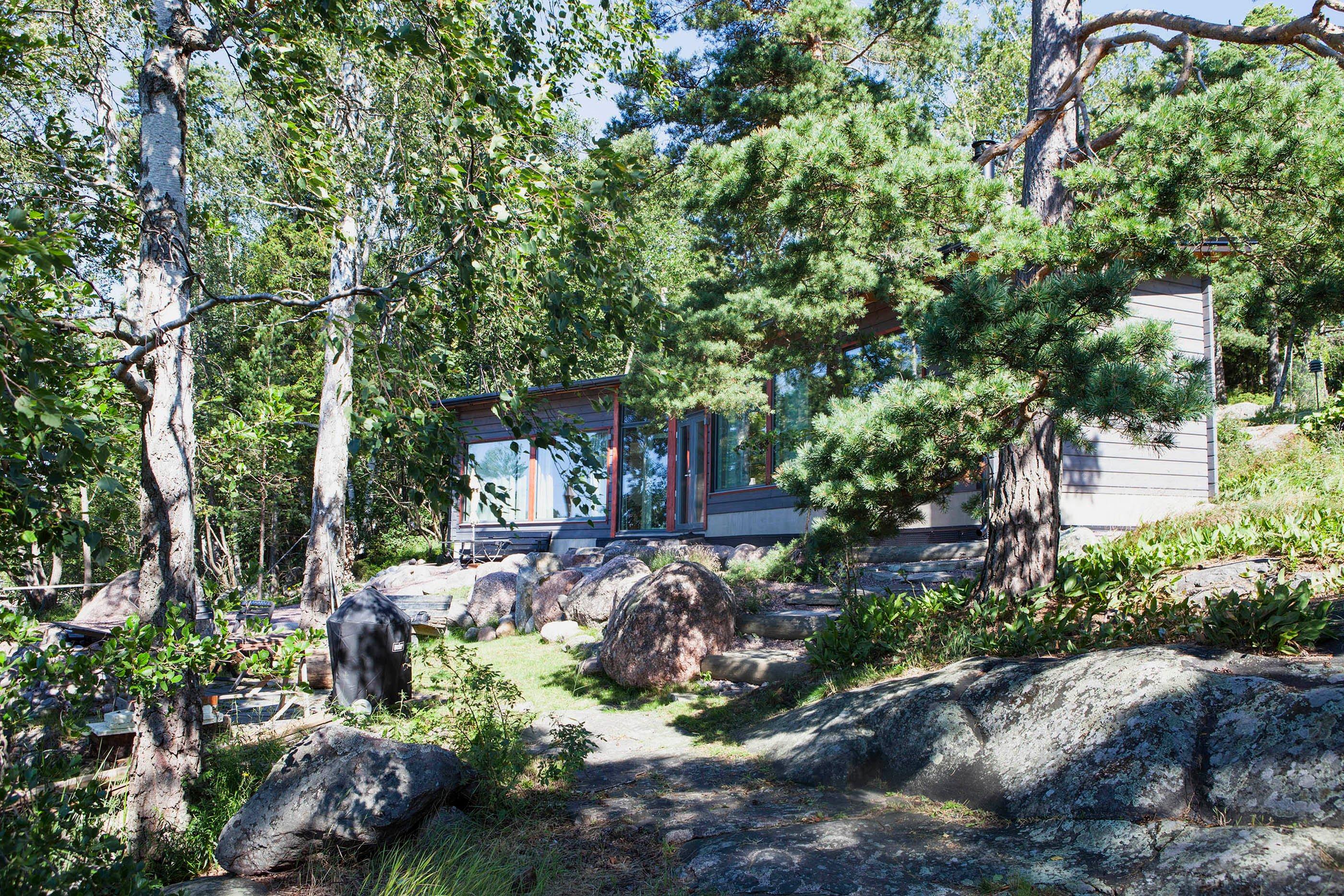 Sunhouse huvila Kirkkonummen Porkkalassa