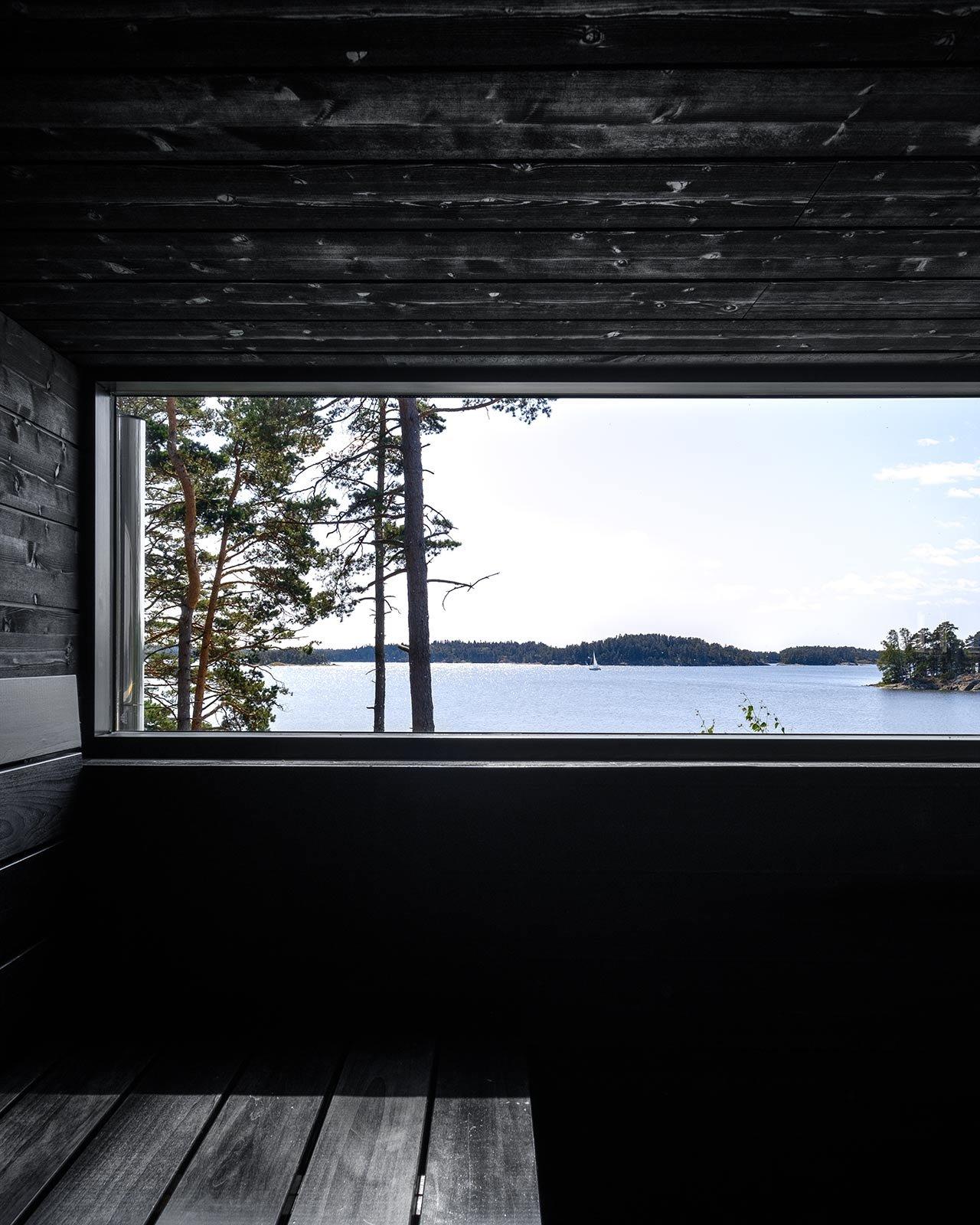 Omakotitalo ja saunarakennus Raaseporissa