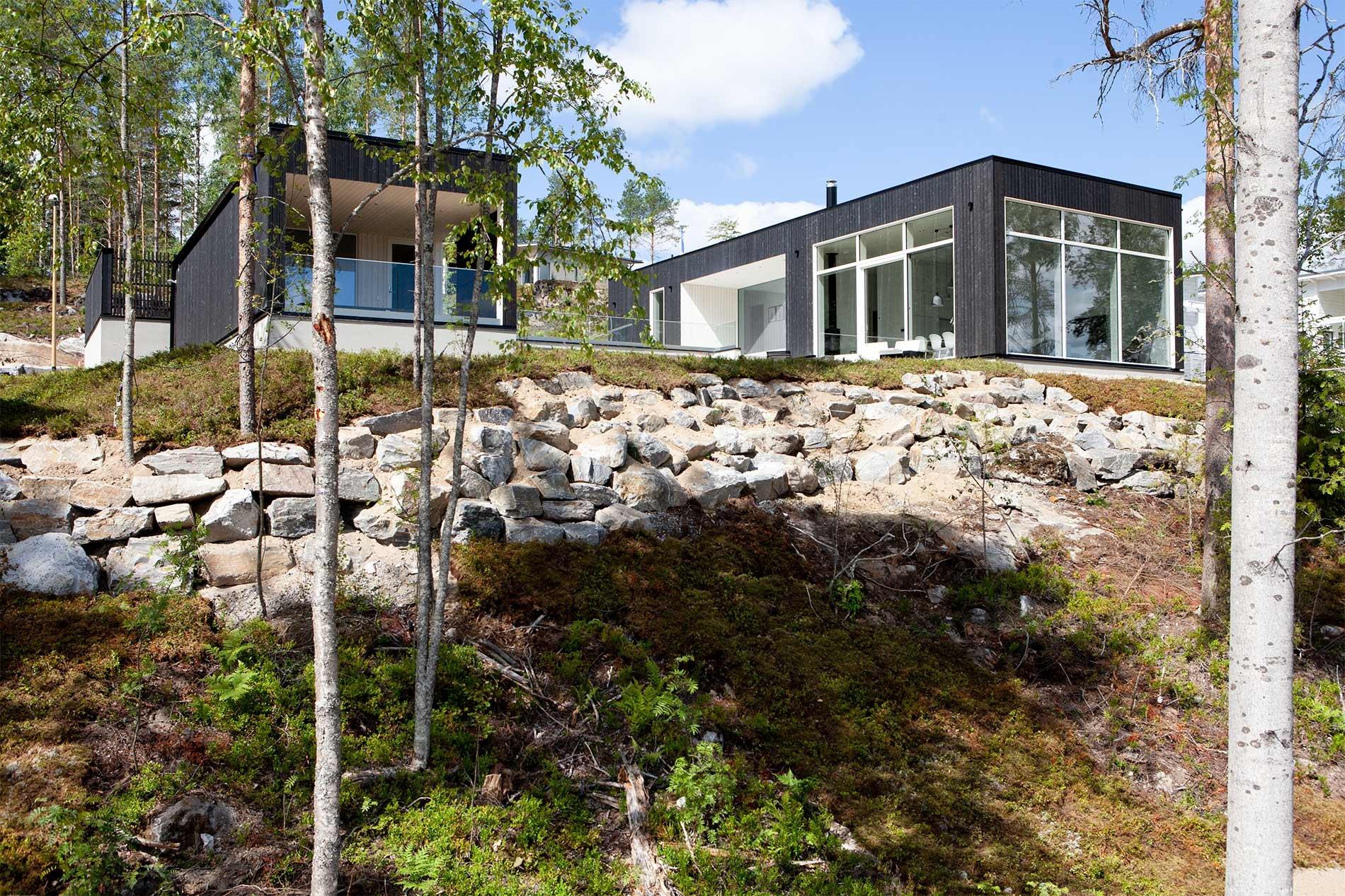 Moderni omakotitalo Mikkelissä
