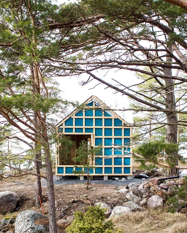 Hengittävä seinärakenne - Sunhouse