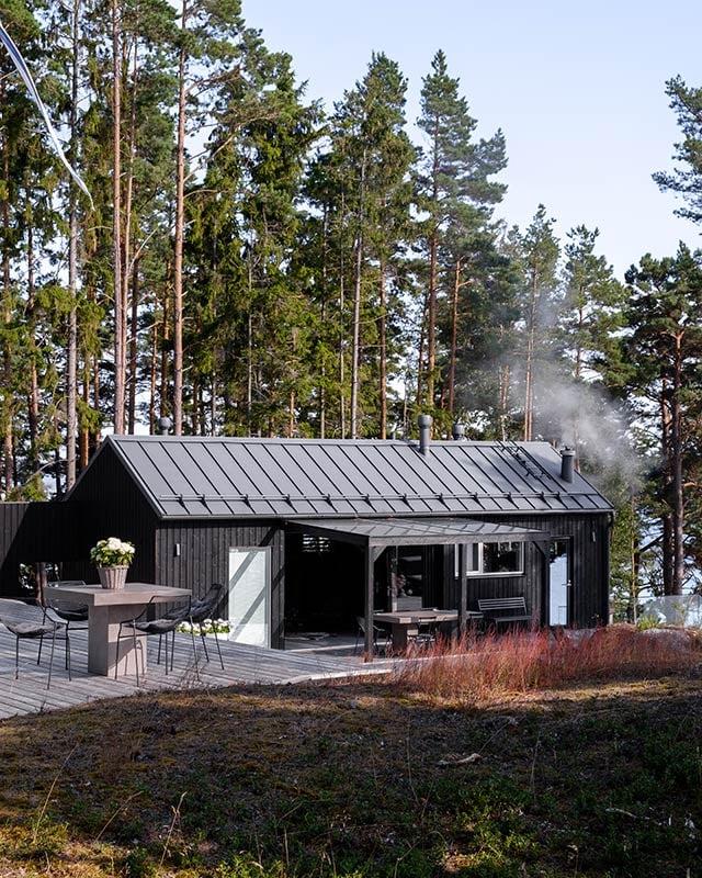 Omakotitalo ja sauna Raaseporissa