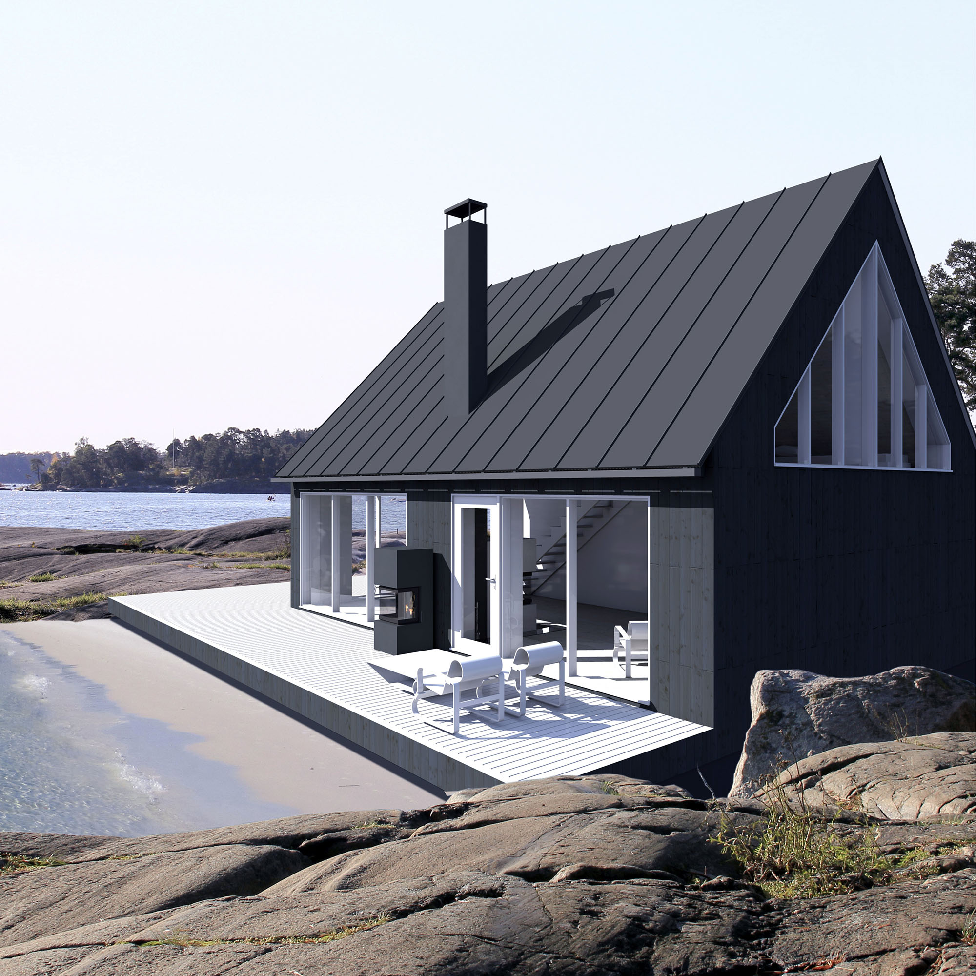 Sunhouse Saaristolaistalo M1