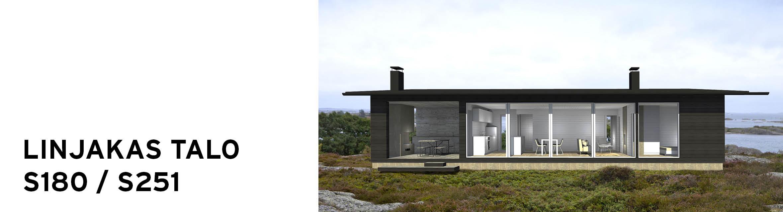 Sunhouse Linjakas talo S180/S251