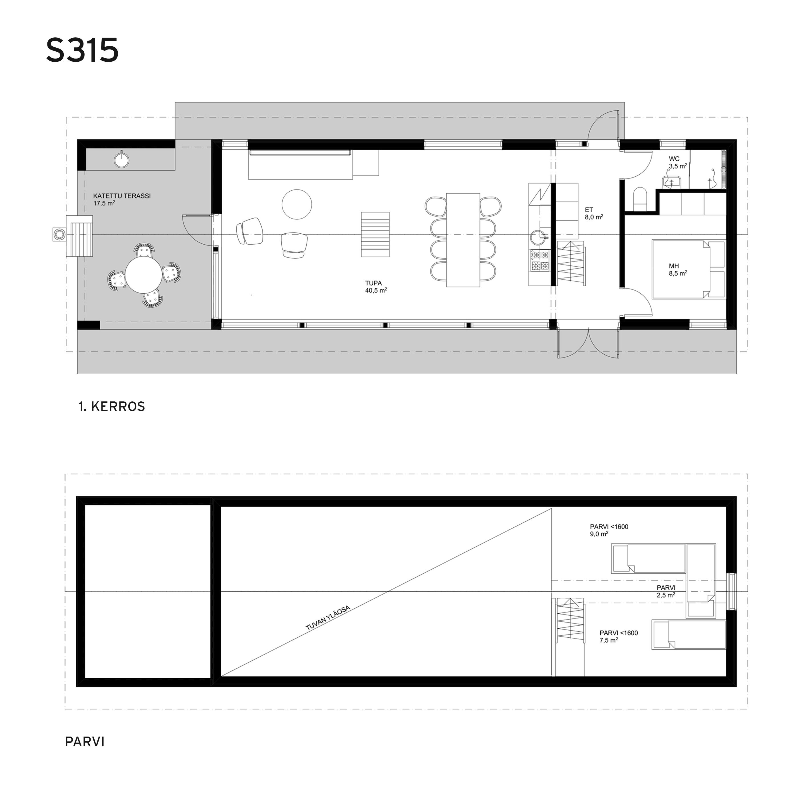 Sunhouse Linjakas talo S315.jpg