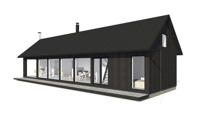 Sunhouse Linjakas talo S315