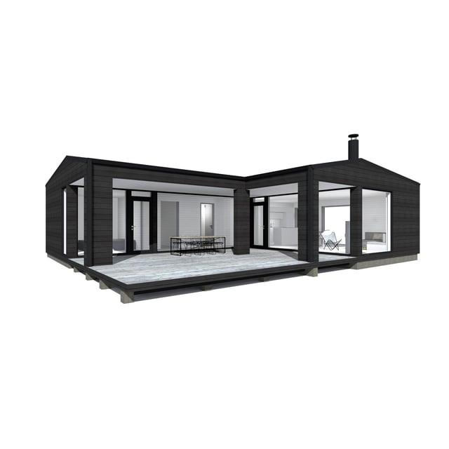 Sunhouse Linjakas talo S330