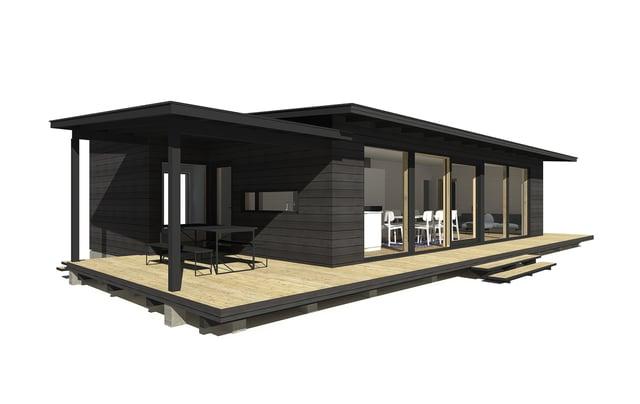 Sunhouse Linjakas talo S337