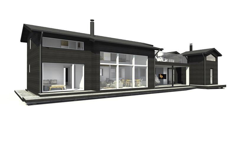 Sunhouse Linjakas talo S355