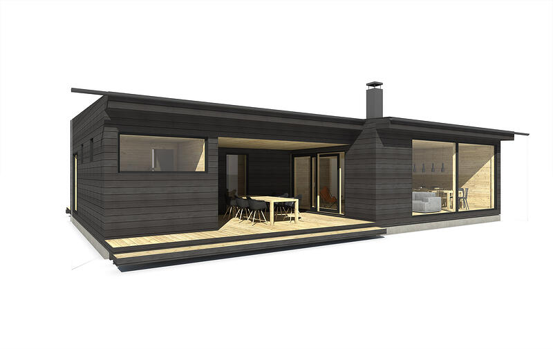 Sunhouse Linjakas talo S362