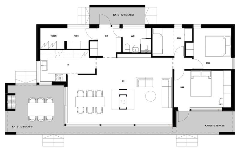 Linjakas talo S431