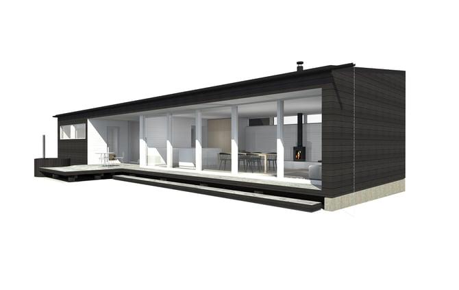 Sunhouse Linjakas talo S500