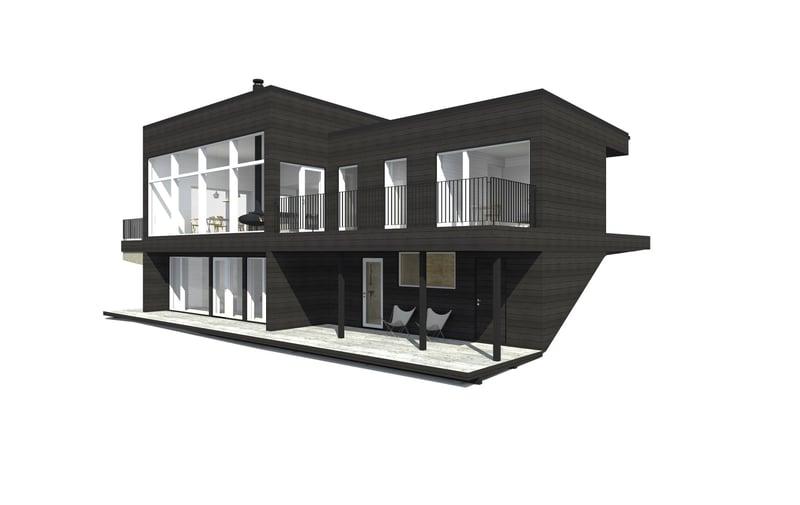 Sunhouse Linjakas talo S560