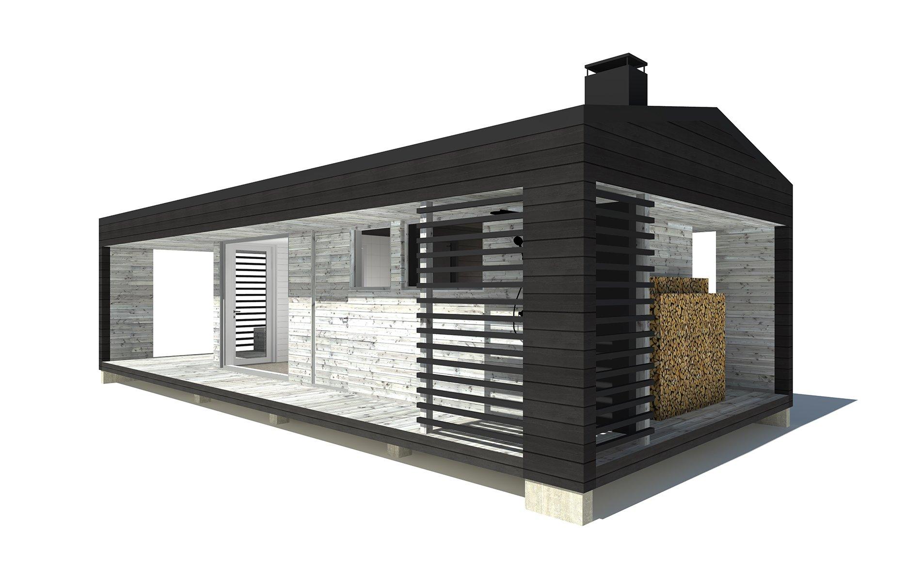 Sauna G-oikea-kulma