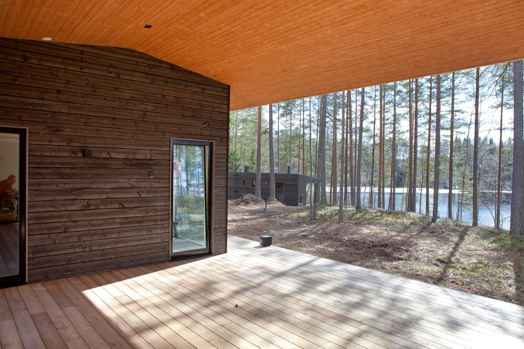 Moderni puutalo