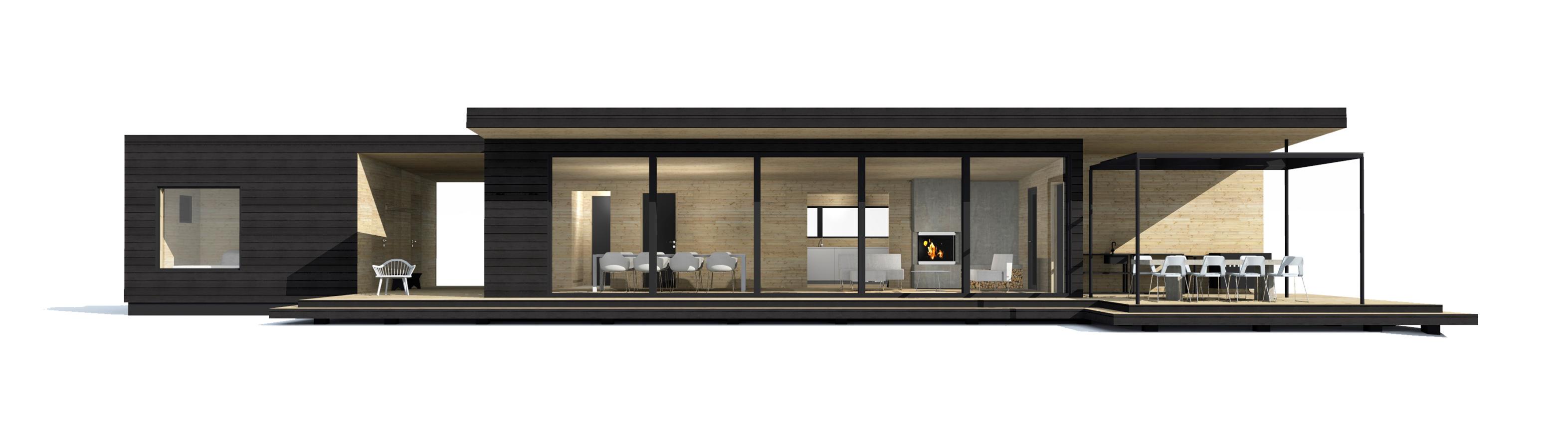 Linjakas talo S400