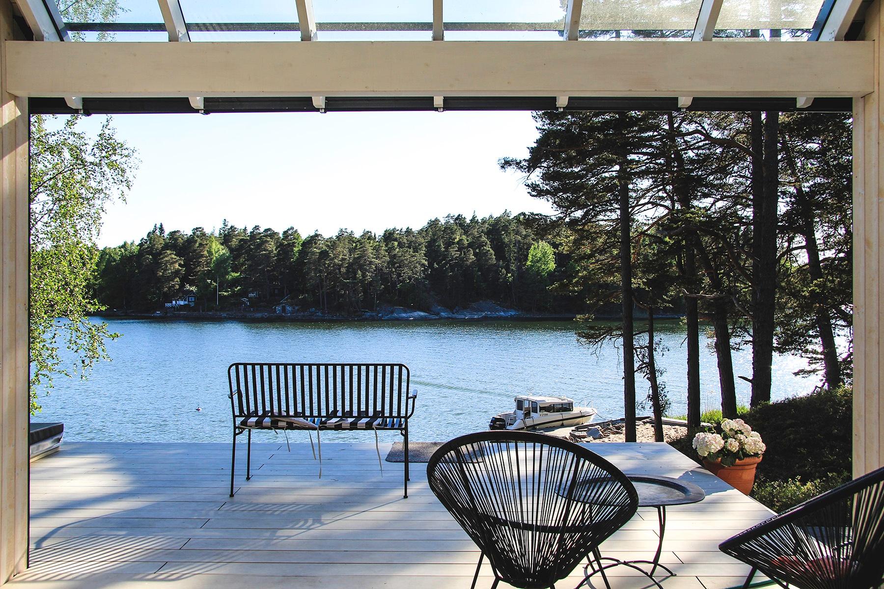 Moderni vapaa-ajan asunto Helsingin saaristossa (4)