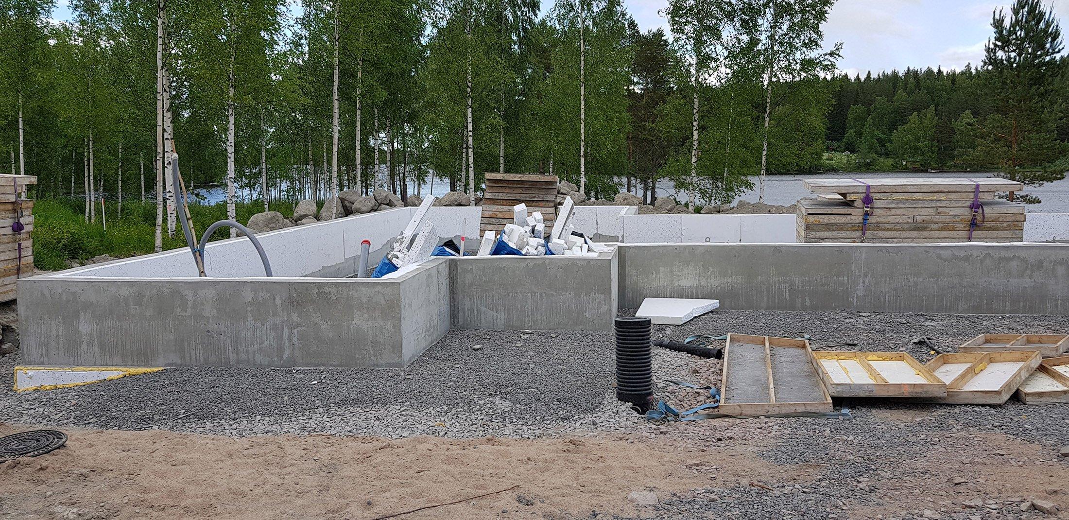 Omakotitalon rakentaminen-perustukset (1)