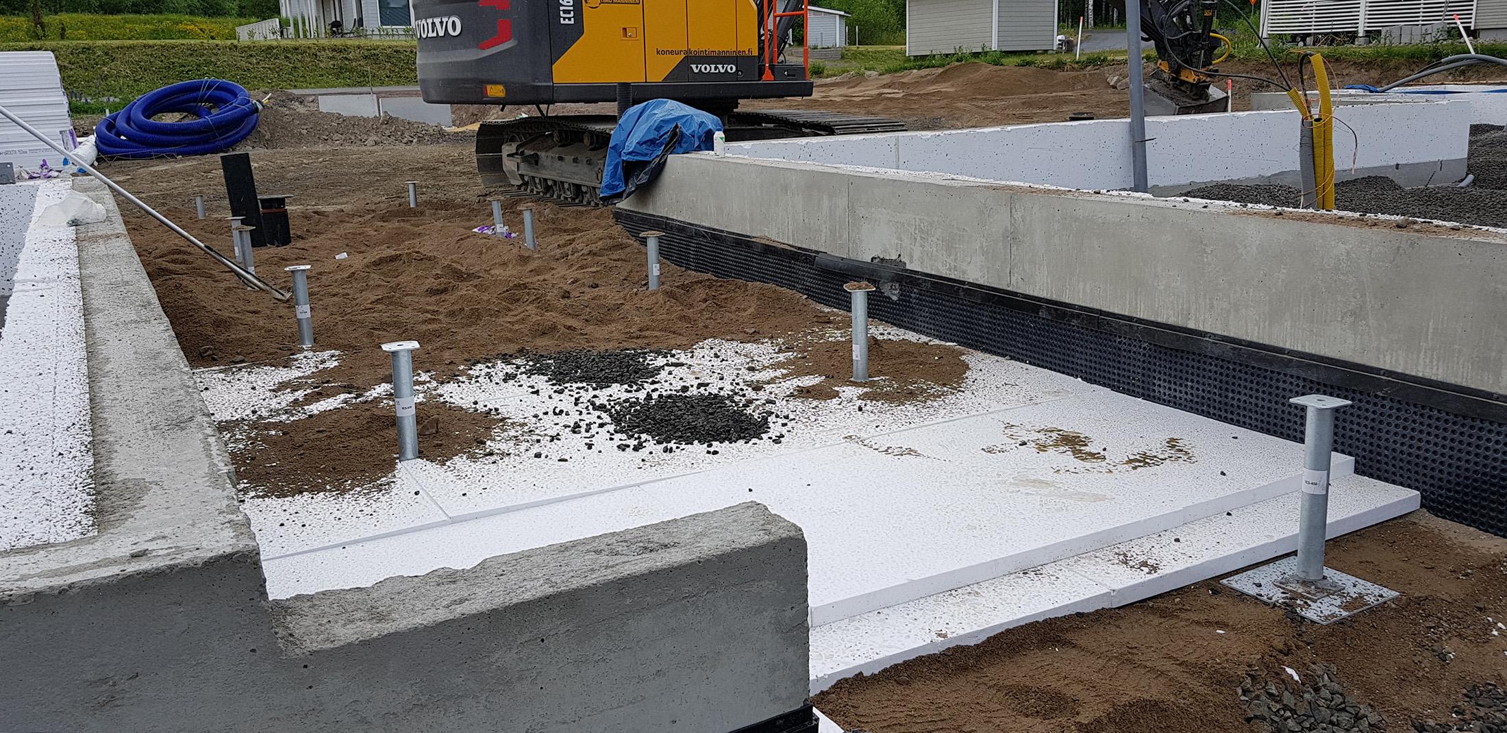 Omakotitalon rakentaminen-perustukset (2)