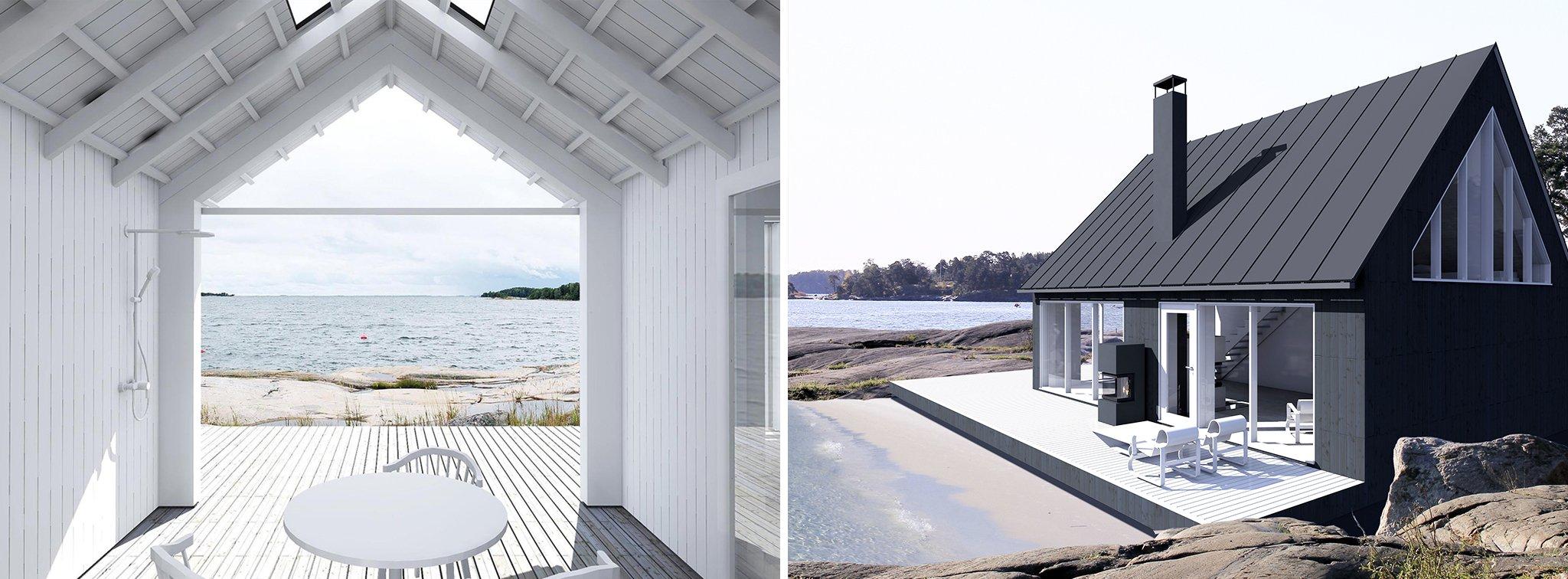 Sunhouse- Modernit puutalot