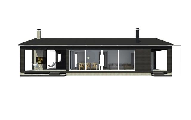 Sunhouse Linjakas talo S270