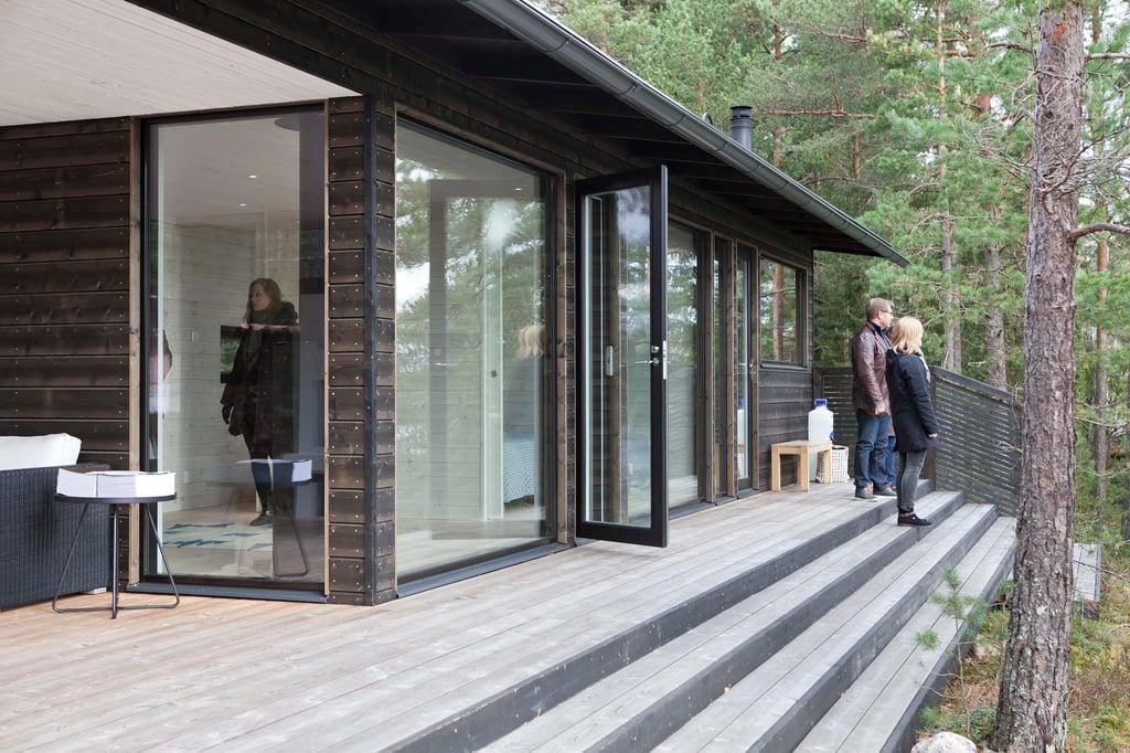 Sauna Kirkkonummella taloesittely