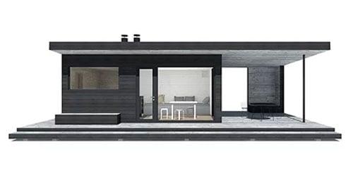 Modernit saunat