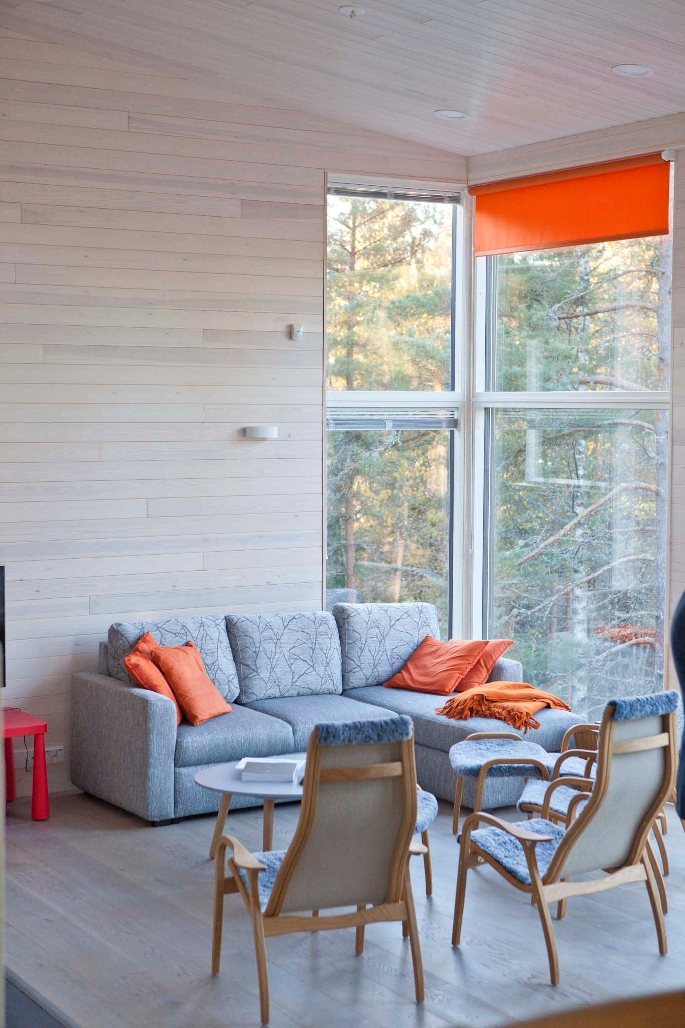Vapaa-ajan asunnon taloesittely